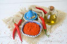 Harissa - arabska pasta chilli