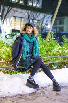 ストリートスナップ [あわつまい] | BELLY BUTTON, TOKYO BOPPER, トーキョーボッパー, ベリーボタン | 原宿 | Fashionsnap.com