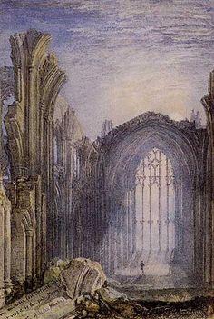 Joseph Mallord William Turner Melrose Abbey