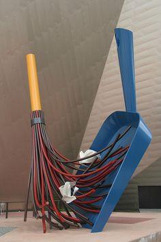 @Kelly Teske Goldsworthy Genova I just thought of you...dustpan and broom, Denver Art Museum