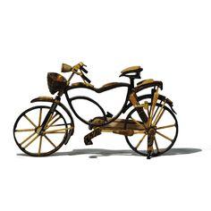 Bicicleta de casca de coco - Happy Market Super Glue, Coconut Shell, Shells, Bicycle, Craft, Bicycles, Shelled, Bicycle Kick, Bike