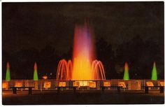 The old Mardi Gras Fountain on Lakeshore Dr., NOLA, ca. 1960s
