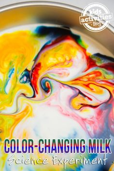 Color Changing Milk Science Experiment