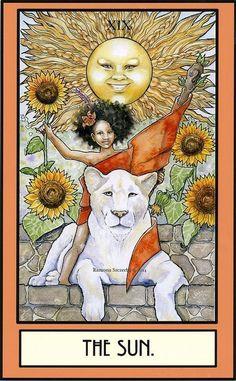 The Sun - Druid Craft Tarot