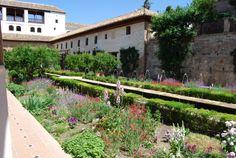 The Gardens of the Alhambra in Granada www.hiddenvalleyandalucia.com