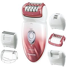 Panasonic ES-ED90-P Wet/Dry Epilator and Shaver, with Six Attachments including Pedicure Buffer for Foot Care. For product & price info go to:  https://beautyworld.today/products/panasonic-es-ed90-p-wetdry-epilator-and-shaver-with-six-attachments-including-pedicure-buffer-for-foot-care/