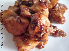 Caramelized chicken with honey- Caramelized chicken with honey Easy Cooking, Cooking Time, Cooking Recipes, Easy Delicious Recipes, Yummy Food, Healthy Recipes, Everyday Food, No Cook Meals, Love Food
