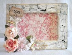 Shabby Chic Altered Frame
