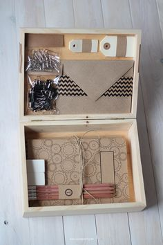Nice Party regalo de empresa pack de escritorio stationery pack, box, kraft