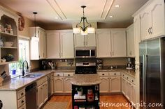How To Paint Your Kitchen Cabinets Without Losing Your Mind - The Kim Six Fix