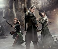 The elves of Mirkwood - The Hobbit: The Desolation of Smaug