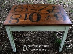 this would be amazing for the table I have in the homeschool room when the kids are a bit older (and less likely to ruin it :)