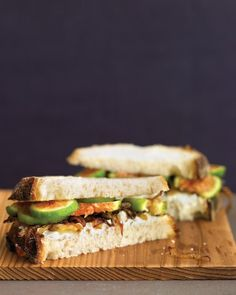 Fig, Goat Cheese, and Caramelized Onion Sandwiches Recipe