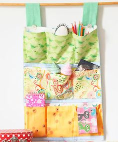 sew room tidy - from Cute and Easy Quilting and Stitching