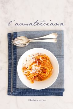 Pasta All Amatriciana, Food Concept, Pasta Noodles, Bon Appetit, Food Styling, Food Photography, Good Food, Food And Drink, Food Design