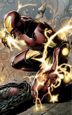 Iron Man by Jim Cheung
