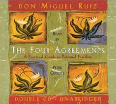 The Four Agreements Practical Guide to Personal Freedom Audiobook CD Miguel Ruiz