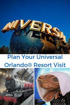 Plan Your Universal Orlando® Resort Visit