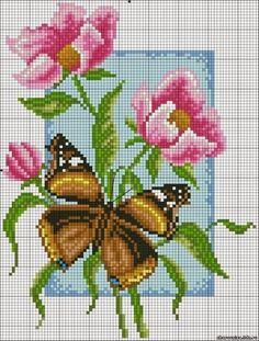 Sweet Home: Tikkitud butterflies.