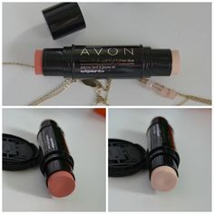 Avon Ideal Flawless Cream Blush and Highlighter Duo review and swatches via…
