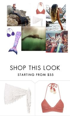 """Let's Be Mermaids"" by raspberry-stegosaurus ❤ liked on Polyvore featuring SHE MADE ME and Dorothy Perkins"