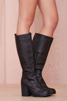 Jeffrey Campbell Sark Leather Boot   Shop Boots at Nasty Gal