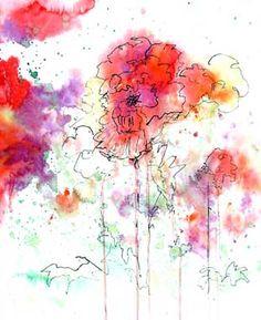 Watercolor & Pen
