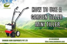 Keys for successful farming and gardening are fertile soil that is best for growing fruits, vegetables in good yield. One best way to make garden soil fertile is to use mini tiller. So you should go for a good research about mini tiller best suited for your garden type and soil requirements. When you're ready to use a garden tiller to get your land ready for gardening, follow these steps to make sure you follow the proper steps. #MiniTiller Mini Tiller, Successful Farming, Garden Soil, Gardening, Garden Types, Fun To Be One, Lawn Mower, Being Used, Outdoor Power Equipment