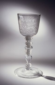 Goblet with a Hunting Scene | Corning Museum of Glass