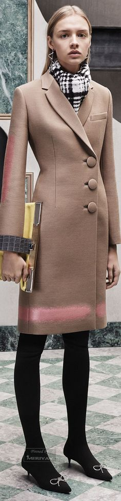 Balenciaga Pre-Fall 2015 women fashion outfit clothing style apparel @roressclothes closet ideas