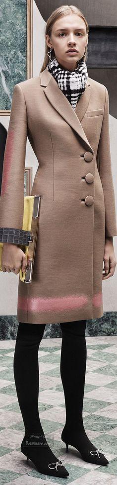 Balenciaga Pre-Fall 2015 women fashion outfit clothing style apparel @roressclothes closet ideas