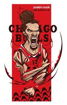 Noah and Rose - The Bulls were in Brazil by Antonio de Padua Neto78, via Behance