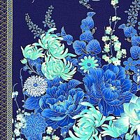 eQuilter Midnight Garden Gate Pattern