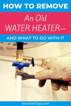 So you've determined that your old water heater has to go, but the problem now is how, and what do you do with it once you've removed it? We've got a handy guide with not just one but 11 possible solutions to your problem  #waterheaters #hotwater #plumbingtips #homerenovationideas #plumbing #plumbingfixtures