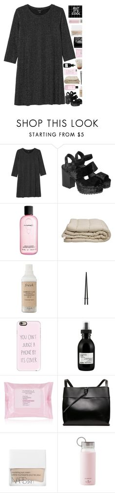 """""""My friends don't walk they run..."""" by marysilvs1 ❤ liked on Polyvore featuring Monki, MAC Cosmetics, Fresh, Casetify, Davines, NARS Cosmetics and Kate Spade"""