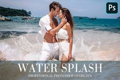 Water Splash Overlays Photoshop by FixThePhoto on @creativemarket Photoshop Plugins, Photoshop Overlays, Adobe Photoshop, Splash Photography, Couple Photography, Image Editing, Photo Editing, Photo Retouching, Paint Shop