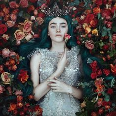 Photograph by Bella Kotak. Bella Kotak creates imagery inspired from fantasy and fairytales