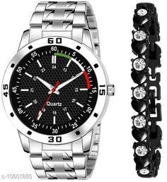 Watches K23 & J21 Pack of 2 Attractive Unique Dial With Unique And Exclusive New Analog Watches For Men & Women Bracelet Strap Material: Stainless Steel Display Type: Analogue Size: Free Size Multipack: 2 Country of Origin: India Sizes Available: Free Size   Catalog Rating: ★4.3 (298)  Catalog Name: Classy Men Watches CatalogID_1941497 C65-SC1232 Code: 082-10601880-606