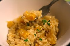 mamacook: Pumpkin Risotto with Thyme for babies and toddlers