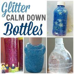 Glitter Calm Down Bottles