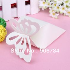 New Free Shipping High Quality 50 Pcs Cake Style for Wedding Party Baby Shower  Butterfly Favor Gift Candy Boxes