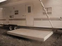 Looks interesting for the RV: Slide out deck from under rv