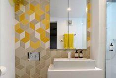 Apporter de la couleur dans la salle de bain