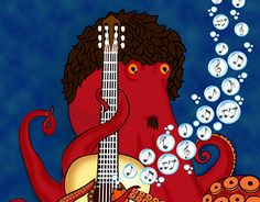 """Check out new work on my @Behance portfolio: """"Pulpo"""" http://be.net/gallery/45290311/Pulpo"""