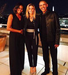 #44thPresident #BarackObama and his wife, #FirstLady #MichelleObama celebrated their 25th wedding anniversary #October3rd 2017 at #Fiola in #PennQuarter #Resturant #WashingtonDC #25thWeddingAnniversary #Happy25thAnniversay #BarackandMichelle #TheObamas #HusbandandWife