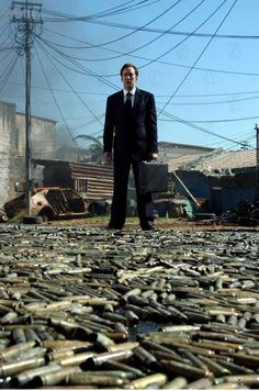 Lord Of War (2005): You know who's going to inherit the earth? Arms dealers. Because everyone else is too busy killing each other. That's the secret to survival. Never go to war, especially with yourself.