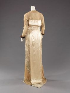 1910 - robe du soir - Jacques Doucet - Metropolitan Museum
