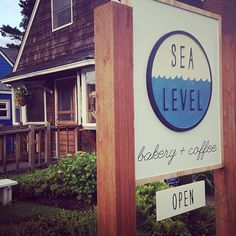 Sea  Level bakery & coffee ~ Cannon Beach. Cute spot, great service, excellent coffee (went back for more), but baked goods were just meh