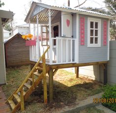 Classic Play House on stilts by Playground Wizards. Contact: sales@playgroundwizards.co.za
