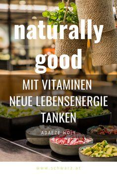 Naturally Good von Adaeze Wolf vereint die gesunde Ernährung, Bewegung & Entspannung um mit einfachen Schritten zu mehr Wohlbefinden und Lebensenergie zu gelangen! Wolf, Healthy Smoothies, Kaiserschmarrn, Feel Better, Healthy Food, Wolves, Timber Wolf